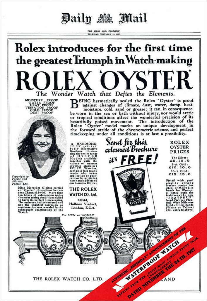 Pub Rolex Daily Mail Oyster