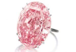 Diamant Rose Record Du Prix Au Carat Battu Pour Le Pink Legacy