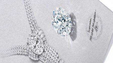 Collier Art déco Tiffany's diamant 80 carats