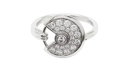 Amulette Cartier bague