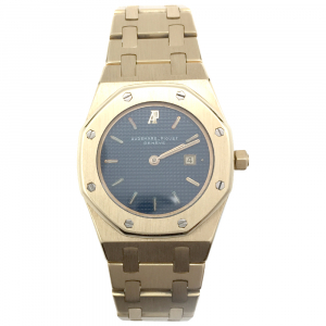 "Montre Audemars Piguet ""Royal Oak"" en or jaune sur bracelet en or jaune."