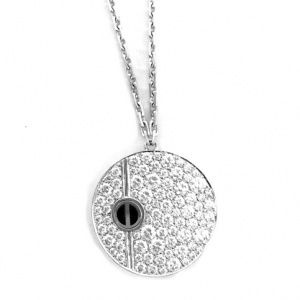 "Collier Cartier modèle ""Love"", diamants."
