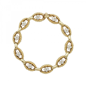 Bracelet Boucheron en or et diamants.