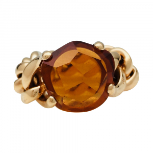 "Bague Pomellato, ""Lola"", en or jaune, citrine."
