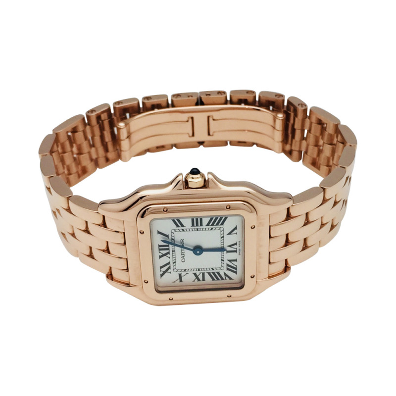 Rose Gold Cartier Panthere Watch Medium Size