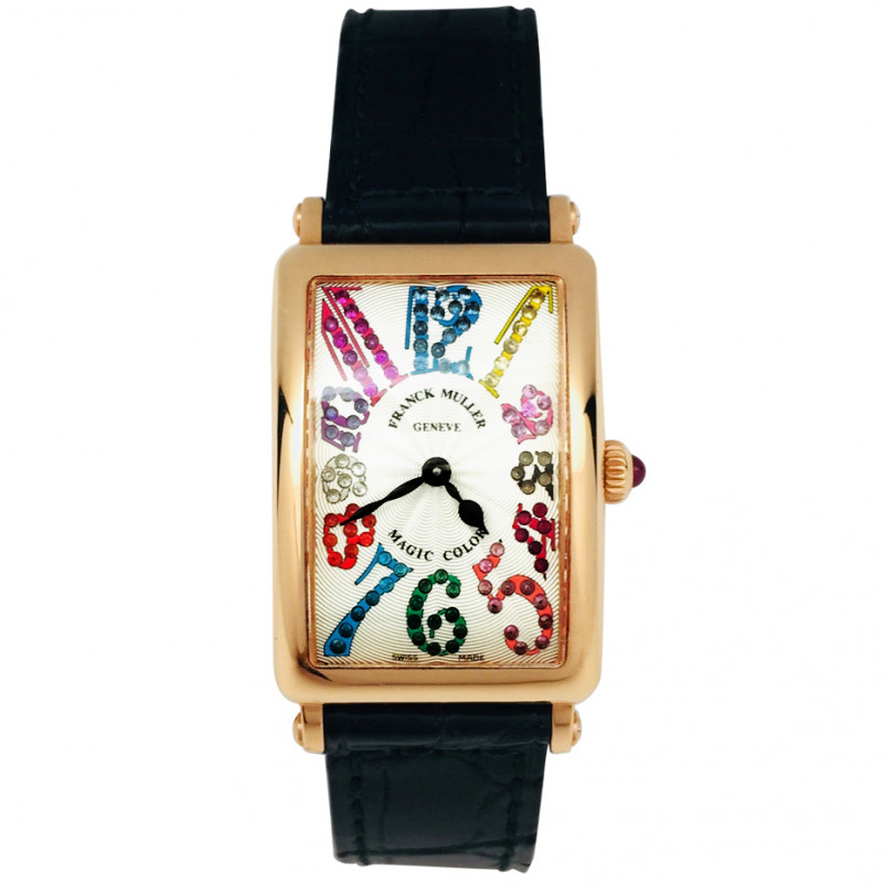 "Montre Franck Muller, ""Long Island - Magic color""."